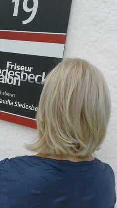 Cool blonde hair  www.friseur-siedesbeck.de