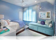 Interior Design Ideas for Baby & Teen Girls' Bedrooms Colorful Interior Design, Room Interior Design, Colorful Interiors, Girl Room, Girls Bedroom, Bedroom Decor, Bedrooms, Child Room, Bedroom Ideas