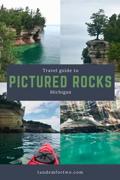 Camping, Hiking & Kayaking Pictured Rocks National Lakeshore, Michigan - Camping, Hiking & Kayaking Pictured Rocks National Lakeshore, Michigan – Tandem For Two - Michigan Vacations, Michigan Travel, Midwest Vacations, Kayak Pictures, Tandem, Kayak Camping, Kayaking Trips, Backpacking Trips, Van Camping