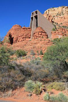 Chapel of the Holy Cross, Sedona AZ