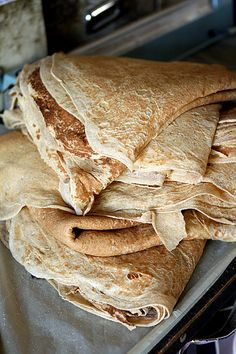 Saj, Flatbreads and Lebanese Pastries - David Lebovitz Lebanese Cuisine, Lebanese Recipes, Turkish Recipes, Persian Recipes, Greek Recipes, Saj Bread Recipe, Lebanese Flat Bread, Pastry Recipes, Cooking Recipes