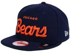Chicago Bears New Era NFL LIDS 20th Anniversary Script 9FIFTY Snapback Cap