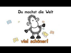 Du machst die Welt... - YouTube Cool Words, Snoopy, Comics, Painting, Fictional Characters, Friends, Videos, Youtube, Funny Good Morning Sayings