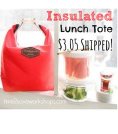 Thermal Lunch Tote only $3.05 Shipped!
