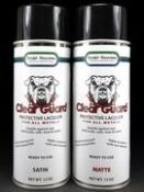 Clear Guard is a extremely durable, crystal clear solvent lacquer with remarkable resistance to UV, weather, and chemical damage.
