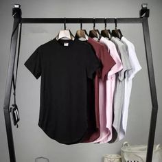2016 Mens big and tall Clothing designer citi trends Clothes T shirt homme Curved hem Tee plain white Extended T shirt Kpop #electronicsprojects #electronicsdiy #electronicsgadgets #electronicsdisplay #electronicscircuit #electronicsengineering #electronicsdesign #electronicsorganization #electronicsworkbench #electronicsfor men #electronicshacks #electronicaelectronics #electronicsworkshop #appleelectronics #coolelectronics