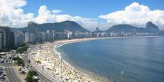 Rio De Janeiro, Brazil. Think beachfront NYC with the hottest looking people on the planet.  If I went back I'd stay in Leblon not Copacabana Beach.