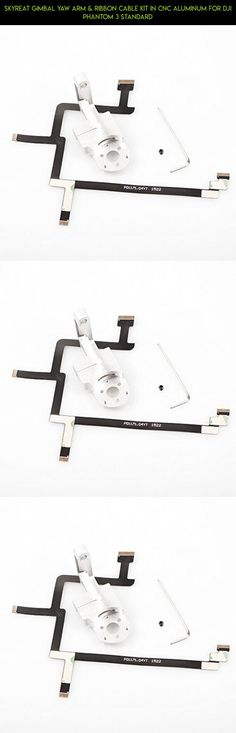 SKYREAT Gimbal Yaw Arm & Ribbon Cable Kit in CNC Aluminum for DJI Phantom 3 Standard #products #3 #arm #technology #shopping #standard #gadgets #plans #cable #kit #phantom #racing #gimbal #fpv #camera #gimbal #drone #kit #parts #yaw #tech #dji