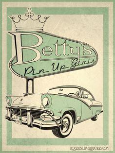 Betty's Pin Up Girls