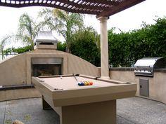 Gentil Outdoor Pool Table