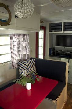 How We Fixed Up The Lake House (Our Vintage Camper) - Laurie Jones Home