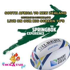 The anticipation for the Rugby World Cup 2015 Semi-Finals could not be higher for the South Africa VS New Zealand match this Saturday Date: 24 October 2015 Kick off time: Saturday Live, Big Screen Tv, Rugby World Cup, Semi Final, New Zealand, Finals, South Africa, News, Cocktail