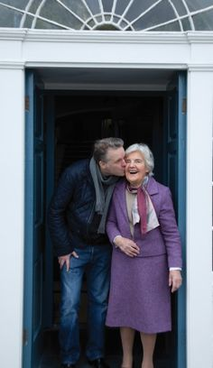 Myrtle Allen, co-founder of Euro-troques, Europe's living archive of culinary traditions, and owner of Ballymaloe. A true legend of Irish artisan cooking.