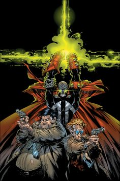Spawn by Greg Capullo and Danny Miki *