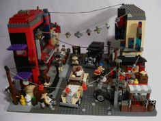 Indiana Jones- Shanghai chase: A LEGO® creation by swash buckler : MOCpages.com