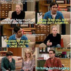 Big Bang Memes, Big Bang Theory Quotes, The Big Theory, Big Bang Theory Funny, Tv Show Quotes, Movie Quotes, Life Quotes, Super Funny Memes, Funny School Memes