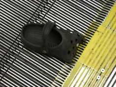 Children have suffered serious injuries by getting their shoes (especially Crocs) caught in escalators.