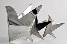 "Gio Ponti for Lino Sabattini, ""Uccello"", 1978"