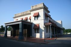 The Frisco Station - old train depot- now the United States Deputy Marshal Museum