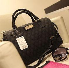à la vente! Nouveau 2014 mangues. femmes designer de mode sacs à main pour femme en cuir noir seau vintage sacs d'épaule des femmes sac à bandoulière