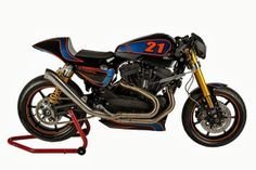 "Harley XR 1200 ""XR H-DLS"" by Shaw Speed & Custom"