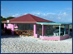 Flash of Beauty Bar & Restaurant   Loblolly Bay Beach  Anegada, British Virgin Islands