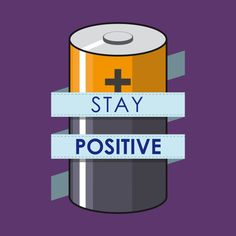 Check out this awesome 'Stay+Positive' design on @TeePublic!