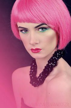 Makeup artist, art, makeup, makijaż artystyczny Makeup, Artist, Fashion, Make Up, Moda, Fashion Styles, Makeup Application, Fasion, Beauty Makeup