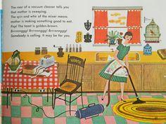 Ellen Giggenbach: Mid century children's book illustrations