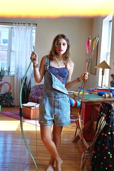 Teresa Oman by Colin Leaman for Urban Outfitters Teresa Oman, Denim Tees, Blue Corset, Fade Styles, Outfit Combinations, Light Denim, Passion For Fashion, Urban Outfitters, Summer Outfits