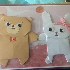 Personalised Origami Pug dog Wedding Card, Personalised Pug Engagement card, Handmade Funny Anniversary Card, For Boyfriend, Girlfriend Origami Dog, Origami Folding, Origami Paper, The Pug, Anniversary Cards For Boyfriend, Funny Anniversary Cards, Pug Valentine, Love Valentines, Pug Wedding