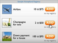 honeyfund.com hells yes! instead of registering for gifts register for your guests to pay for parts of your honeymoon! google honeymoon registry for more sites like this one!