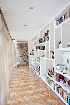 Hallway shelving Eco Outdoor - Project of the Month - April 2013 - Californian Cool