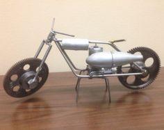 Metal Sculpture, Motorcycle