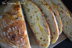 The Gingered Whisk: Apple Cheddar Beer Bread, Grilled