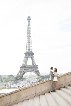 This e-sesh is très chic: http://www.stylemepretty.com/destination-weddings/2015/08/06/romantic-springtime-paris-engagement-session/ | Photography: Les Productions De La Fabrik - http://lesproductionsdelafabrik.com/