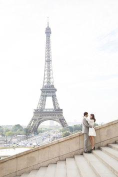 This e-sesh is très chic: http://www.stylemepretty.com/destination-weddings/2015/08/06/romantic-springtime-paris-engagement-session/ | Photography: Les Productions De La Fabrik - http://lesproductionsdelafabrik.com/