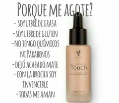 Not oily not gluten not chemical Cruelty free www.youniqueproducts.com/AdaJuarez