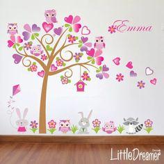 Vinilos decorativos infantiles buhos ploteos calcos stickers 375 00 en mercadolibre Mariposas decorativas ikea