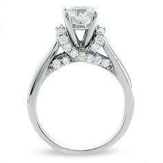 1-3/4 CT. Celebration Diamond Ring in 18K White Gold