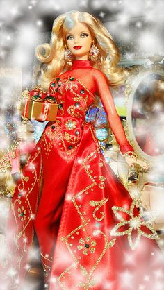 2012 Happy New Year Barbie
