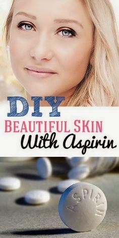 DIY Beautiful Skin With Aspirin Scrub
