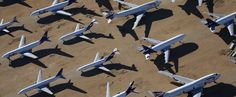 Le cimetière d'avions de Victorville en Californie (en images) - Voyage - LeVifWeekend.be