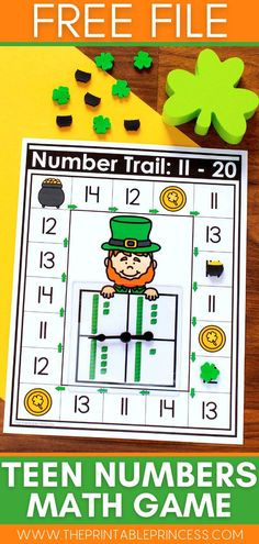 Engage your little kindergarten leprechauns this St. Patrick's day with these no-mess, hands-on math and literacy activities. Plus enjoy our free fun printable!