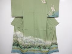 DESIGNER'S HOMONGI (SEMI-FORMAL)/HAND-PAINTED YUZEN/ 1