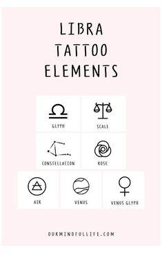 Cute Tiny Tattoos, Bff Tattoos, Dainty Tattoos, Symbol Tattoos, Future Tattoos, Tatoos, Libra Zodiac Tattoos, Astrology Tattoo, Libra Tattoo