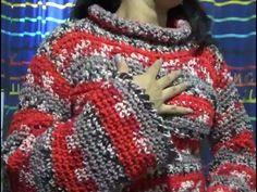 Sueter Juvenil a Crochet ideal para principiantes - YouTube