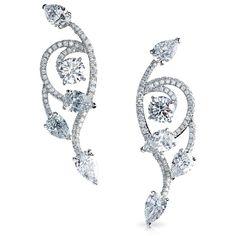 Faberg - Le Carnet de Bal Collection - Cascade de Fleurs Earrings