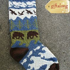 Bret's West Coast Stocking - makes me think of Liz & Don's new home!