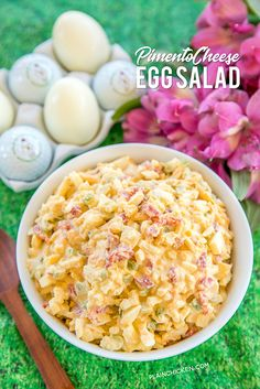 Pimento Cheese Egg Salad from Plain Chicken